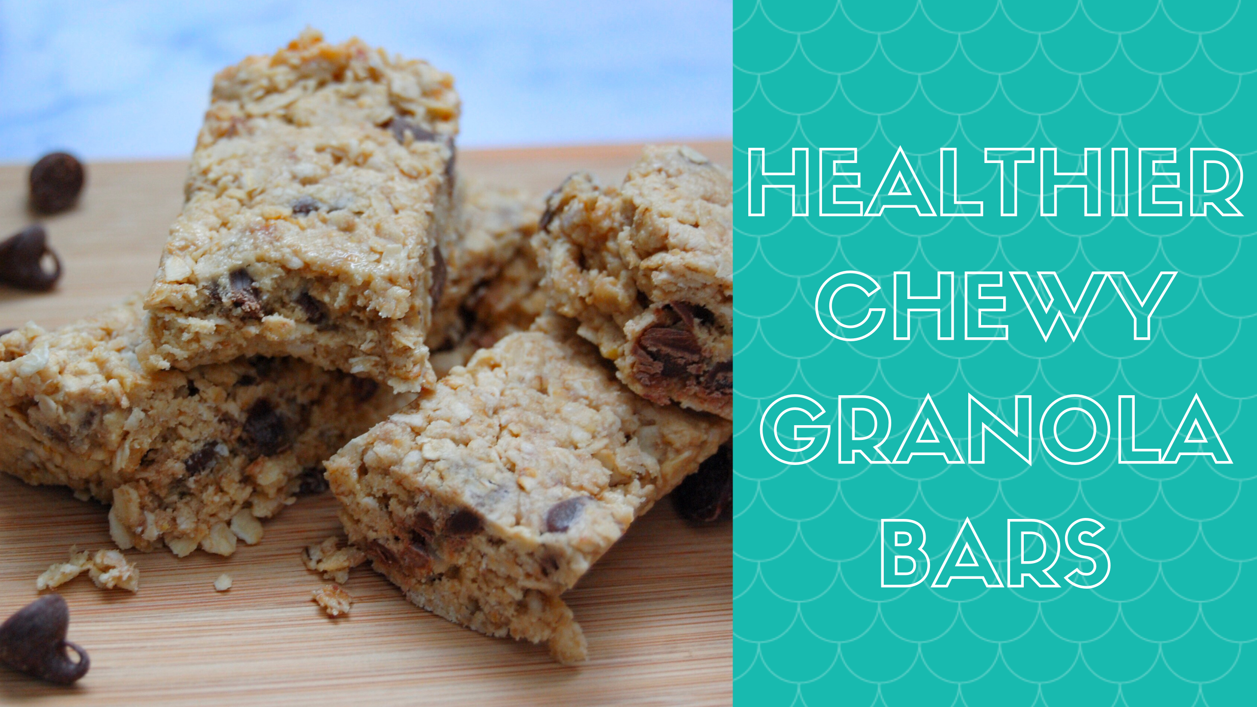 healthier chewy granola bars